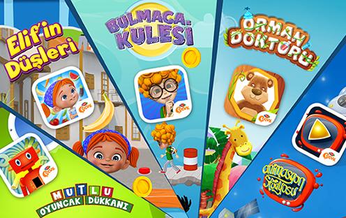 TRT Çocuk 5 Yeni Oyununu Çocuklarla Buluşturdu