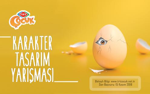 TRT Çocuk Karakter Tasarım Yarışması'na Başvurular Başladı!