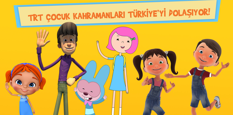 TRT Çocuk Kahramanları Her Yerde!