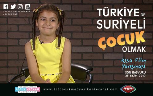 'Türkiye'de Suriyeli Çocuk Olmak' Kısa Film Yarışması Başladı!