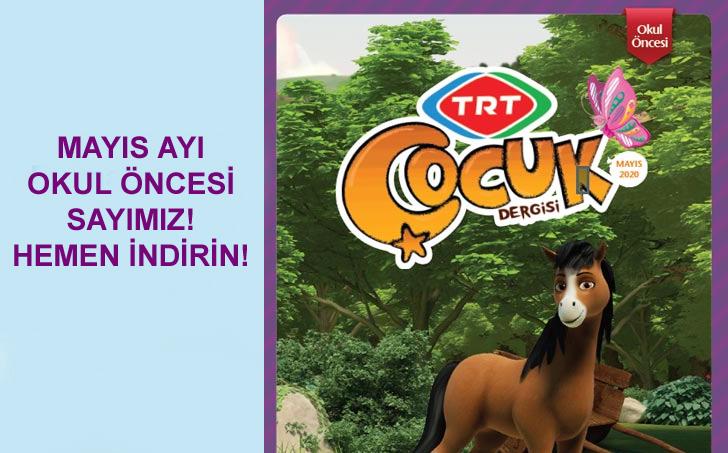 TRT Çocuk Dergisi Okul Öncesi - Mayıs 2020