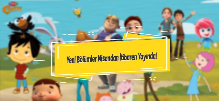 TRT Çocuk Nisan Ayında Dopdolu