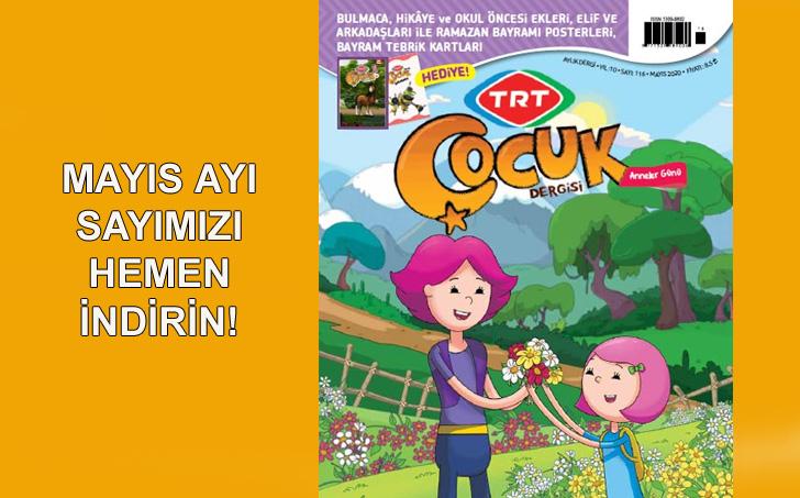 TRT Çocuk Dergisi - Mayıs 2020