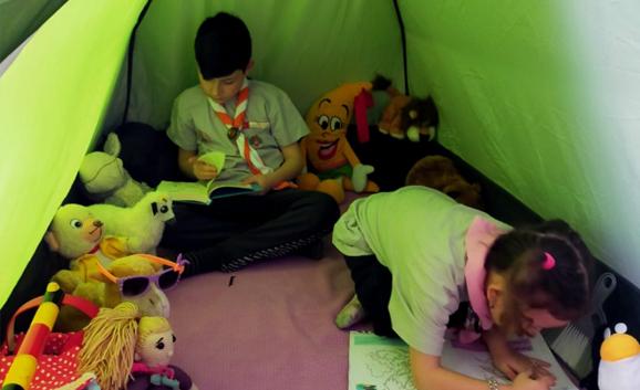 Çocuğunuza Evde İzci Kampı Kurun