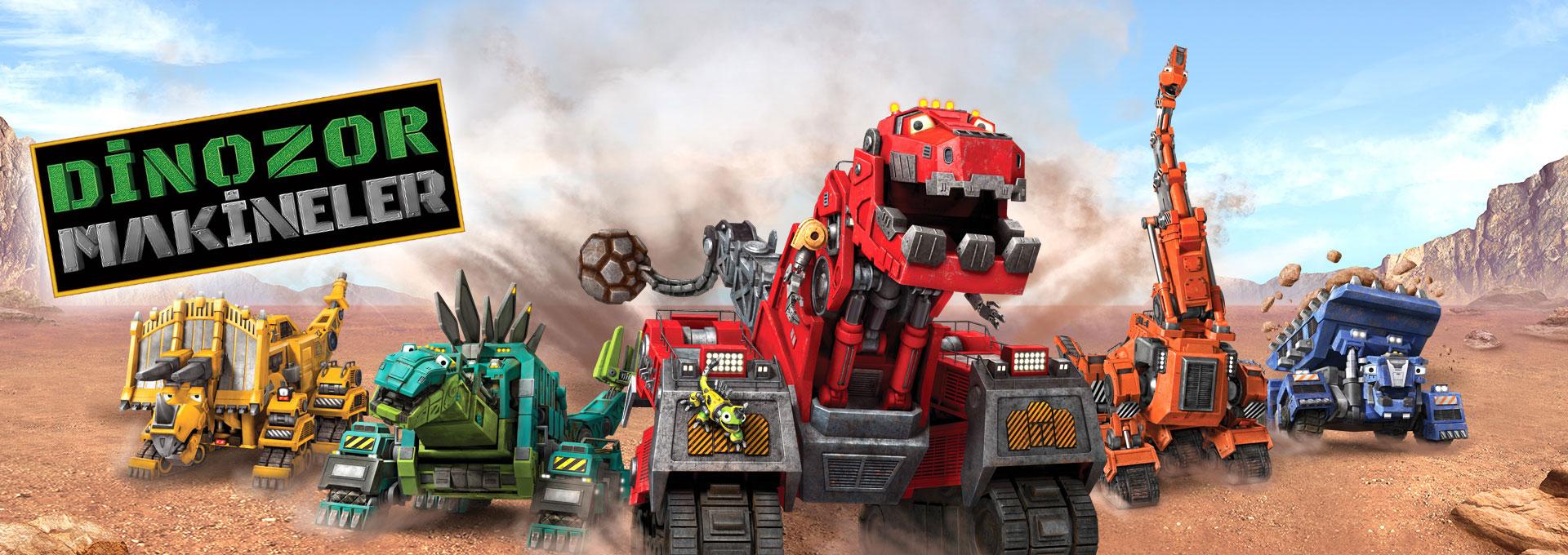 Dinozor Makineler Programlar Trt Cocuk